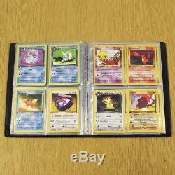 Pokemon cards Team Rocket Dark Complete Set (1st Edition) in WOTC Pokemon Album