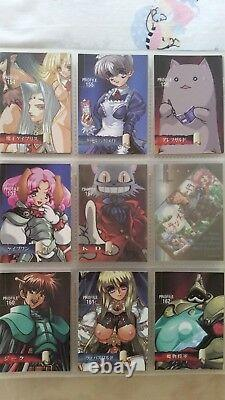 Rance Collection by AliceSoft anime game TRADING CARDS near complete set Rare