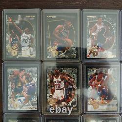 Rare 1992-93 Fleer Basketball Total D Complete Set Michael Jordan Pippen