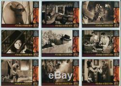 Rittenhouse Wild Wild West Complete 100 Card Set 1998 Plus 3 Insert Sets