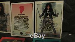 Rock Cards Huge Lot Of 6 Complete 288 Card Sets Alice Cooper Deep Purple Nice