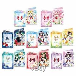 Sailor Moon mini clear file Jumbo Card das Art File Collection 2 8 sets complete