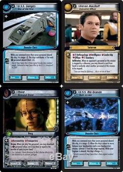 Star Trek Ccg 2e To Boldly Go Complete 120-card Set Mint