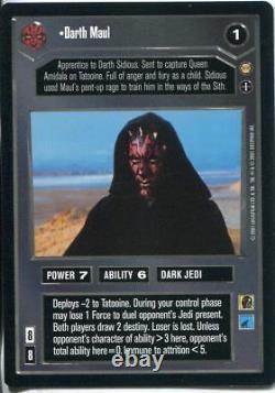 Star Wars CCG Tatooine Complete 90 Card Set