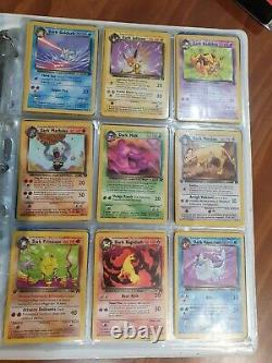 TEAM ROCKET SET COMPLETE POKEMON CARD COLLECTION 83/82 HP-NM 1st Editions WOTC