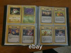 Team Rocket Pokemon Cards COMPLETE SET great condition