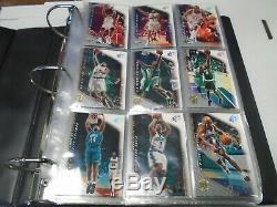 Upper Deck SPX Topps Finest 00-01' 2 Complete Card Sets MJ Kobe Shaq 022020AMCS