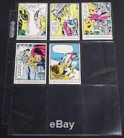 Vintage 1966 Donruss Marvel Trading Card Set 50pc Near Complete Spider-Man