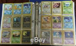 Vintage Pokemon Card Collection 1000+ Lot With Card List RARE Near Complete Sets