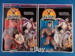 Vintage Sungold Action Figures GALAXY WARRIORS FULL SET Complete Carded MOC