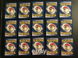 WOTC Complete Fossil Holo Set Pokemon Card Lot 15 cards! No Reserve! Most LP-NM