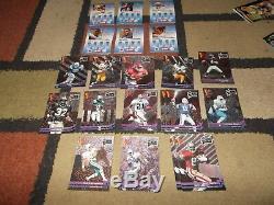 Wild Card Footballbasketballcollegiate & NFL Premier Editionsix Complete Sets