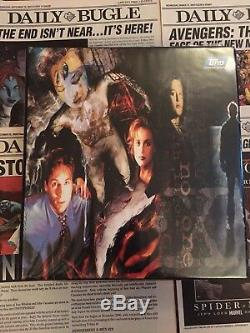 X Files Card Series Complete Parallel sets 1,2,3 All Chase All Promos + More