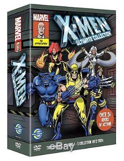 X-Men Complete Season Art Card Box Set 2011 Brand New Sealed UK Region 2 DVD