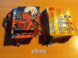 X Men Fleer Ultra 95 Complete Basic Set Of 150 Cards