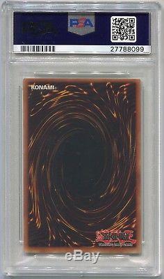 Yugioh Card 1st Edition Exodia Complete Set LOB-120 LOB-125, PSA 10 Gem Mint