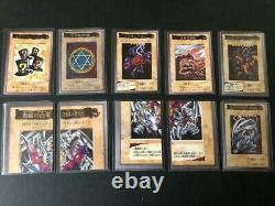 Yugioh Yu-Gi-Oh Card BANDAI CARDDAS 118 TA2 Complete Cards Set 1998 1999